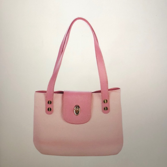 257a3395cbee Eric Javits Bags | Leathertrimmed Woven Tote | Poshmark